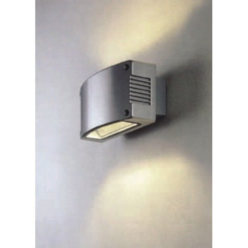 Lighting australia surface mounted up down 70w metal halide wall surface mounted up down 70w metal halide wall light in silver vibe lighting mozeypictures Choice Image