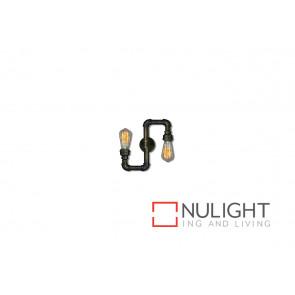 Pipe 2 Light Wall Lamp VAM