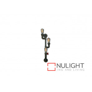 Pipe 3 Light Wall Lamp Type A VAM