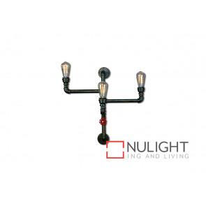 Pipe 3 Light Wall Lamp Type B VAM
