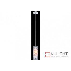 MIRA Glass 1 Light Pendant VAM