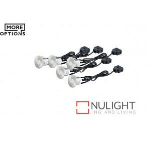 Stainless Steel LED Round Decking Light Kit VAM
