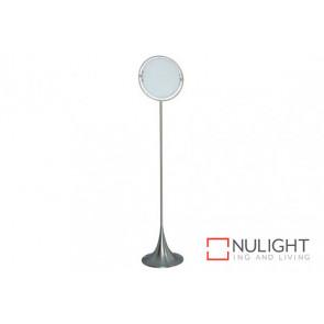 Solar Floor Lamp 35cm White VAM