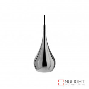 Tulip Big Droppendant Chrome E27 No Globe BRI