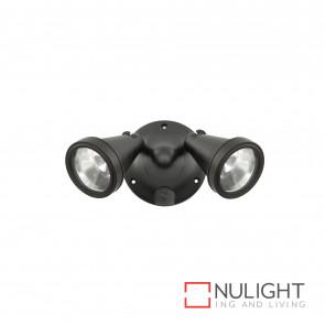 Secura Black Diy Twin Ceiling Light With Out Sensor 100W G9 Inc BRI