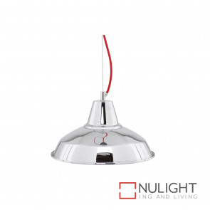 Parti Metal Pendant Small 310Mm Red Cable BRI