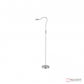 Altrani 5W Led Floor Lamp - Brush Steel BRI