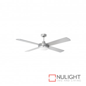 Super Tempest 52 Inch High Performance Ceiling Fan With Light - Brushed Aluminium BRI