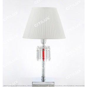 Classic Baccarat Crystal Table Lamp Citilux