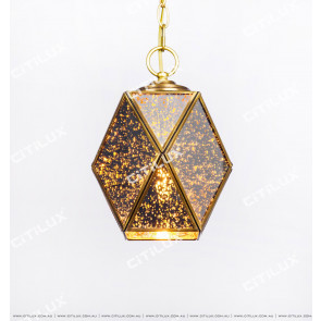 Vintage Single-Headed Diamond Chandelier Short Version Citilux
