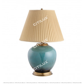 New Chinese Kiln Ceramic Table Lamp Citilux