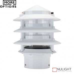 Bl 100 Three Tier Bollard Head E27 Garden Light E27 DOM