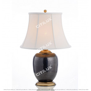 Chinese Ceramic Old Table Lamp Citilux