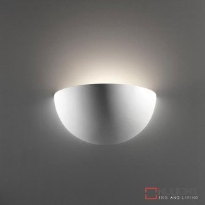 Bf 7310 Ceramic Wall Light Raw E27 DOM