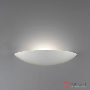 Bf 7577 Ceramic Wall Light Raw E27 DOM
