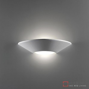 Bf 7603 Ceramic Frosted Glass Wall Light Raw E27 DOM