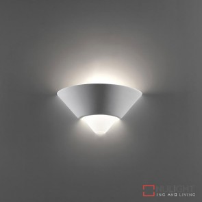 Bf 7908 Ceramic Frosted Glass Wall Light Raw E27 DOM