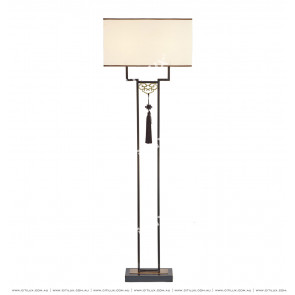 New Chinese Copper All-Terrain Floor Lamp Citilux