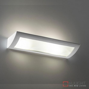 Bf 8186 Ceramic Frosted Glass 60Cm Wall Light Raw E27 DOM