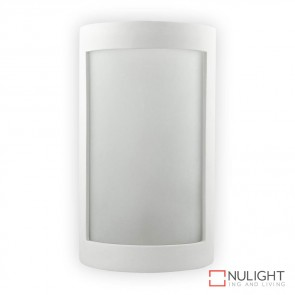 Bf 8202 Ceramic Frosted Glass Wall Light Raw E27 DOM