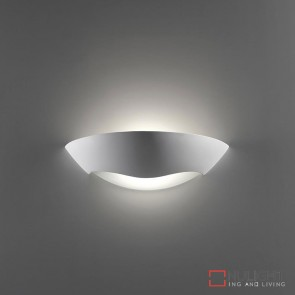Bf 8258 Ceramic Frosted Glass Wall Light Raw E27 DOM