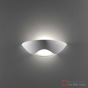 Bf 8259 Ceramic Frosted Glass Wall Light Raw E27 DOM