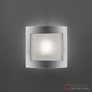 Bf 8839 Ceramic Frosted Glass Wall Light Raw E27 DOM