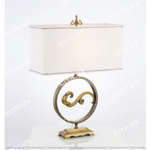 Modern New Chinese Xiangyun Copper Table Lamp Citilux