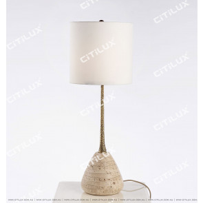Modern Minimalist Classical Marble Table Lamp Citilux