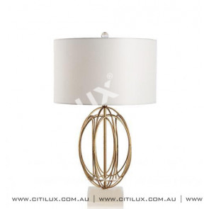 Nordic Retro Gold Round Ball Long Wrought Iron Table Lamp Citilux