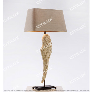 Nordic Vintage Wings Solid Wood Table Lamp Citilux