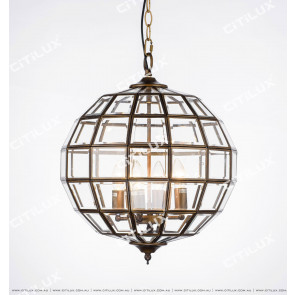 Modern Copper Chandelier Citilux