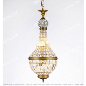 Nordic Luxury Hand-Woven Crystal Chandelier Citilux