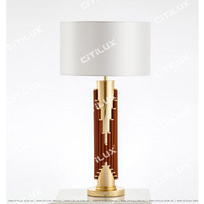 Classic Brown Music Table Lamp Citilux