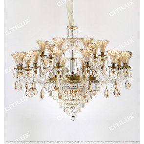 European Retro Crystal Chandelier Citilux