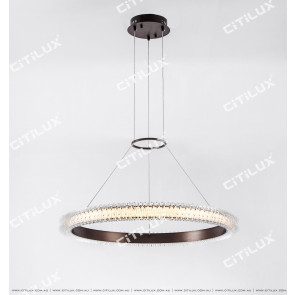 Modern Transparent Ice Led Chandelier Citilux