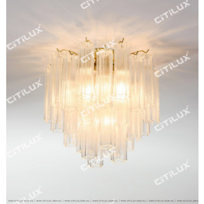 Modern Enamel Glass Ceiling Lamp Citilux