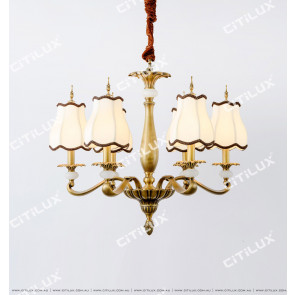 All-Copper Chinese Palace Small Chandelier Citilux