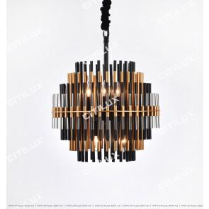 Roulette Metal Art Chandelier Small Citilux