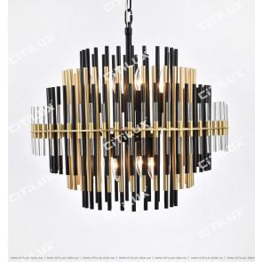 Roulette Metal Art Chandelier Medium Citilux