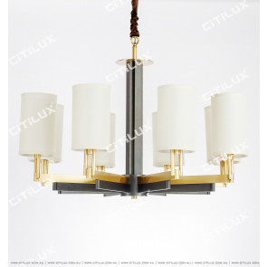 Jane Beautiful Copper Stitching Large Chandelier Citilux