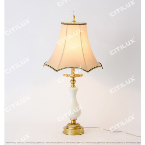 Chinese Style Copper Bucket Table Lamp Citilux