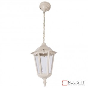 Gt 130 Chester Pendant Light Beige B22 DOM