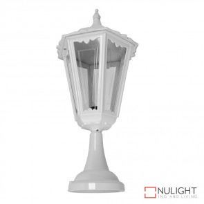 Gt 163 Chester Large Pillar Mount Light White Finish B22 DOM