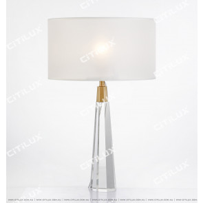 Hexagonal Cone Crystal Column Table Lamp Citilux