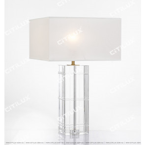 Classic Lattice Crystal Column Table Lamp High Version Citilux