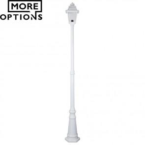 Gt 278 Avignon Single Head Tall Post Light B22 DOM