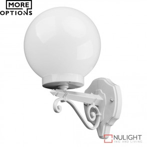 Gt 544 Siena 20Cm Sphere Wall Light E27 DOM