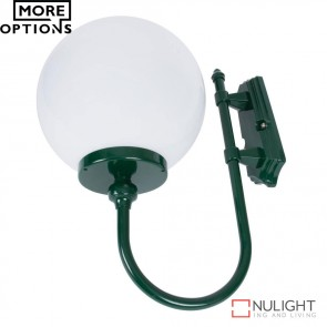 Gt 602 Lisbon 30Cm Sphere Wall Light E27 DOM