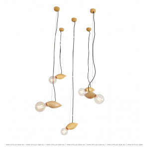Log Firefly Chandelier Single Citilux